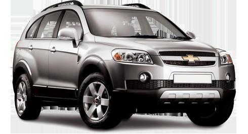 Chevrolet Captiva 4x4 + 7 Kiþilik